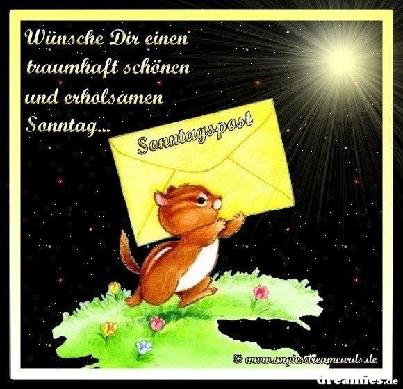 Dreamiesde Sonntagsgrüße Guten Morgen Lustig Und Gute