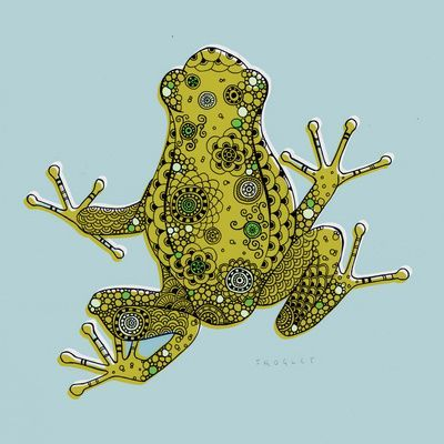 Frog Art Projects Pinterest