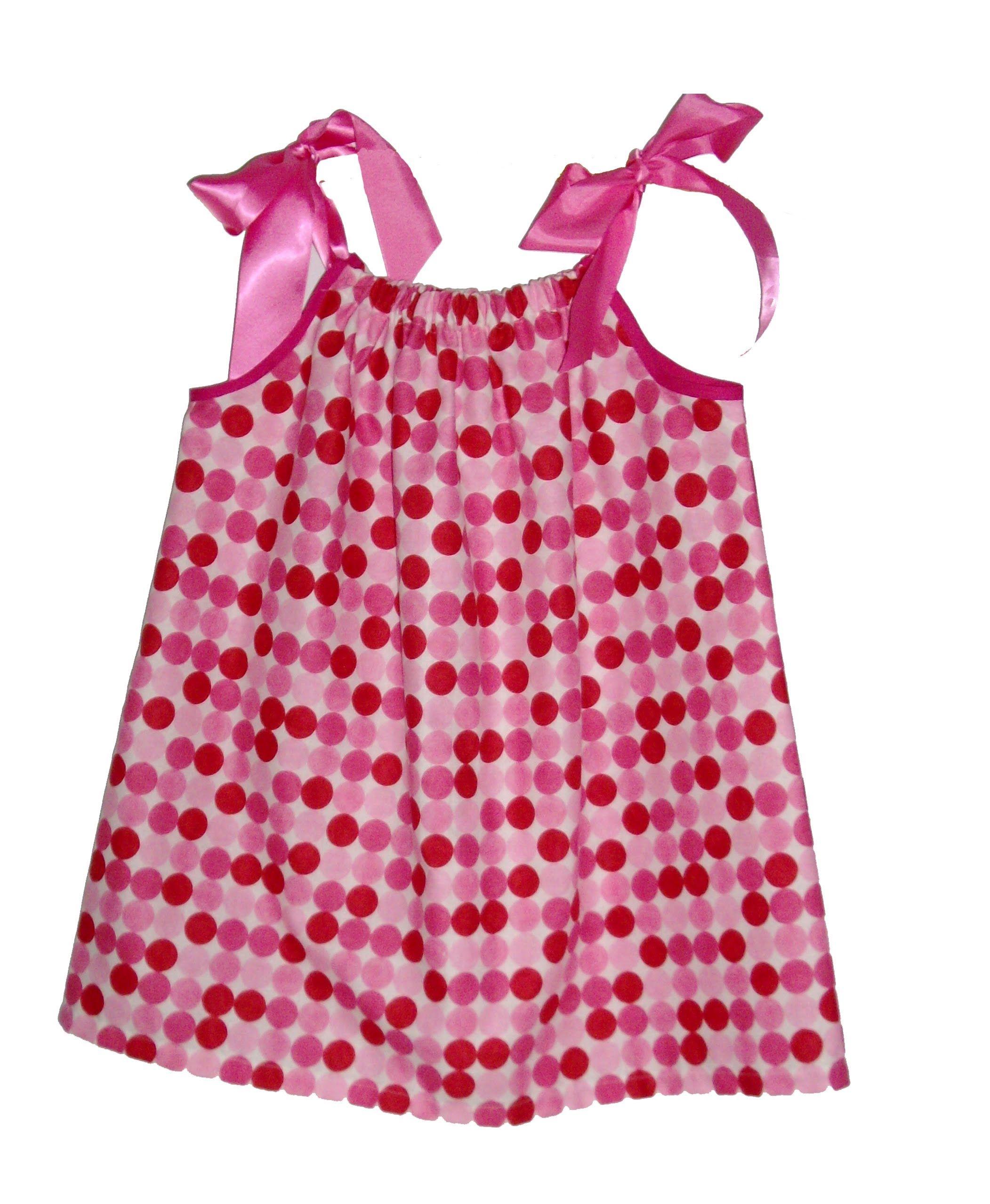 Como hacer un vestido con una funda de almohada para ni as - Hacer tocador para nina ...