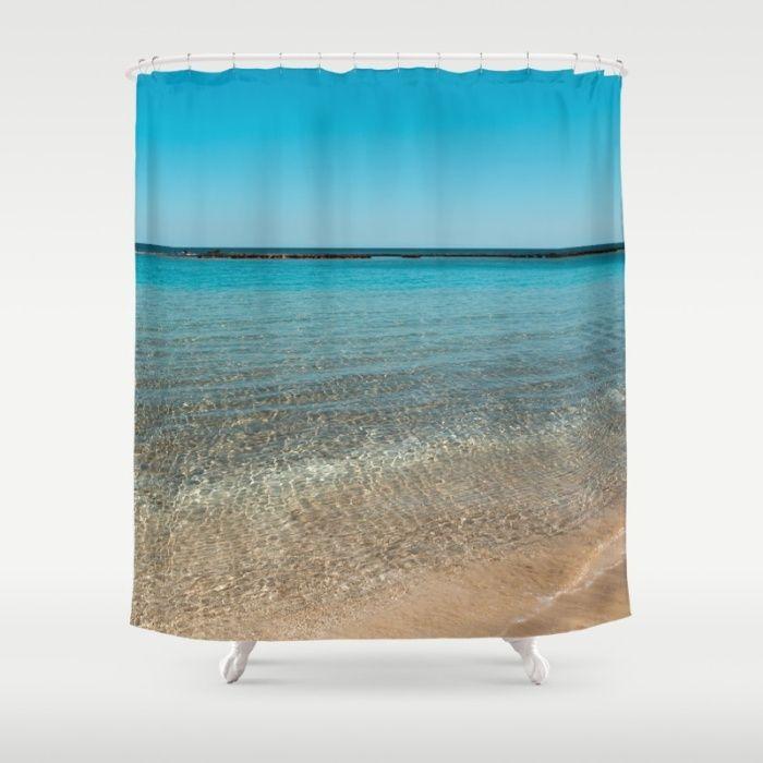 Catharsis Shower Curtain Bathroom Beach Sea Ocean Water