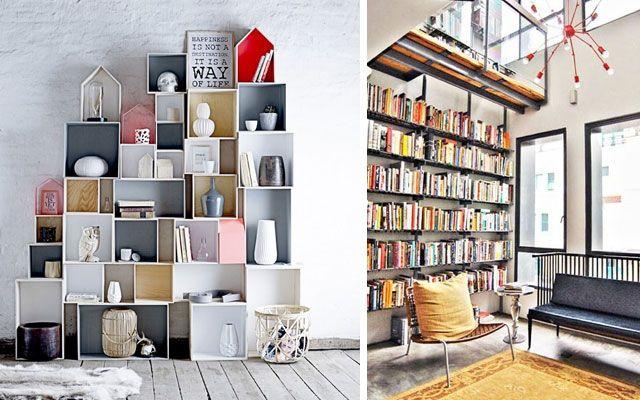 Estanter as originales modernas y decorativas detalles pinterest estanterias originales - Decoracion de estanterias ...