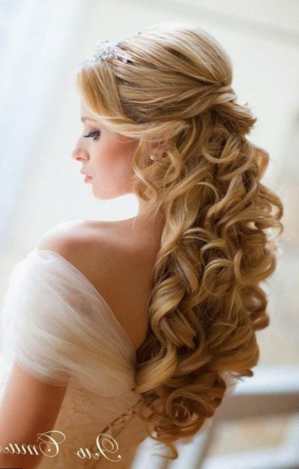 Coiffure mi long mariage 2017. Cheveux2017 Wedding