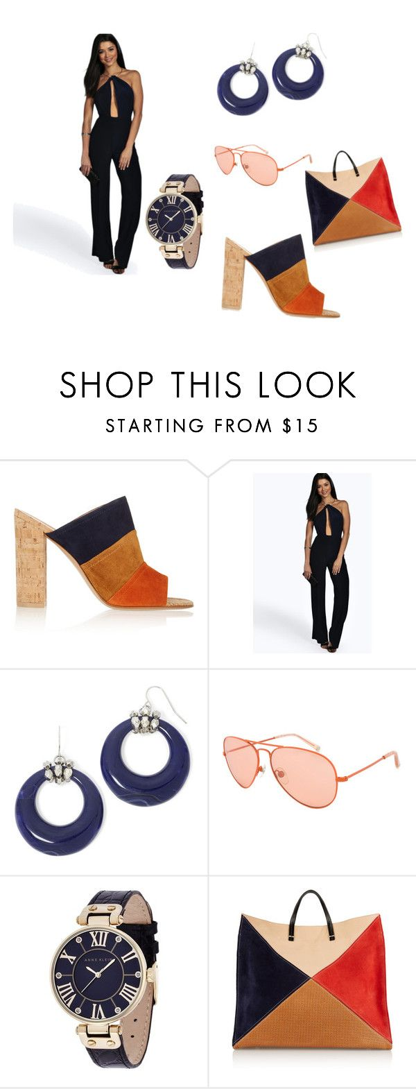 """""""what the colors"""" by feedbacker1 ❤ liked on Polyvore featuring Gianvito Rossi, Boohoo, Mixit, Michael Kors, Anne Klein and Clare V."""