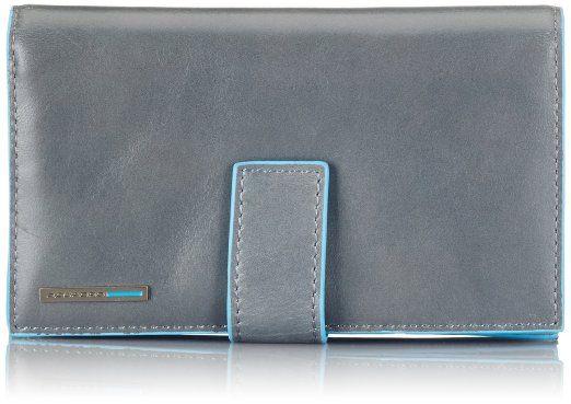 Piquadro PD1353B2 Portafoglio, Collezione Blu Square, Grigio euro 96,88