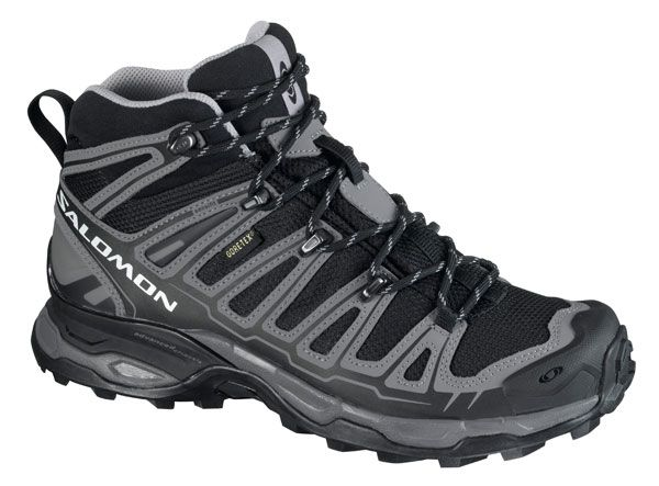 BOTAS TREKKING SALOMON X ULTRA MID GORETEX BLACK DETROIT ...