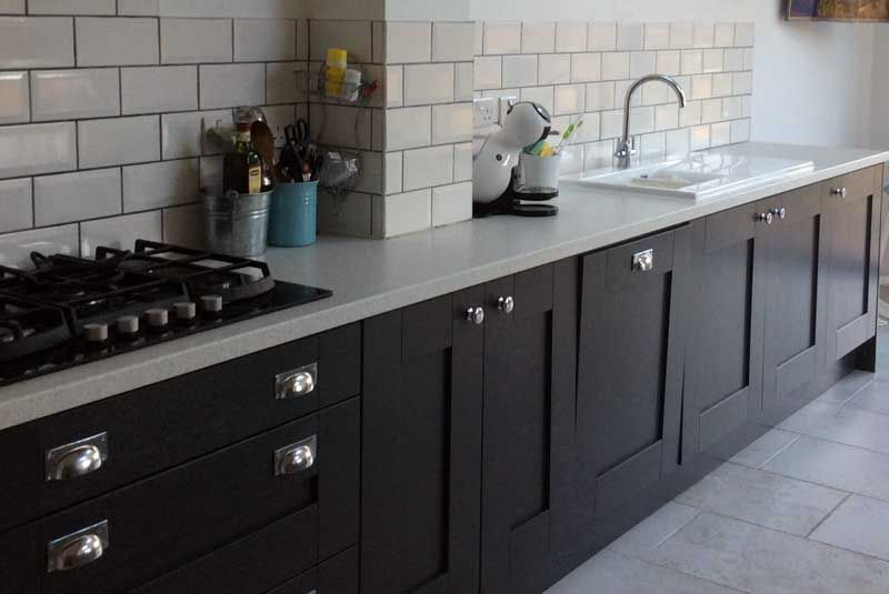 Diy Kitchens an innova malton painted graphite kitchen - http://www.diy