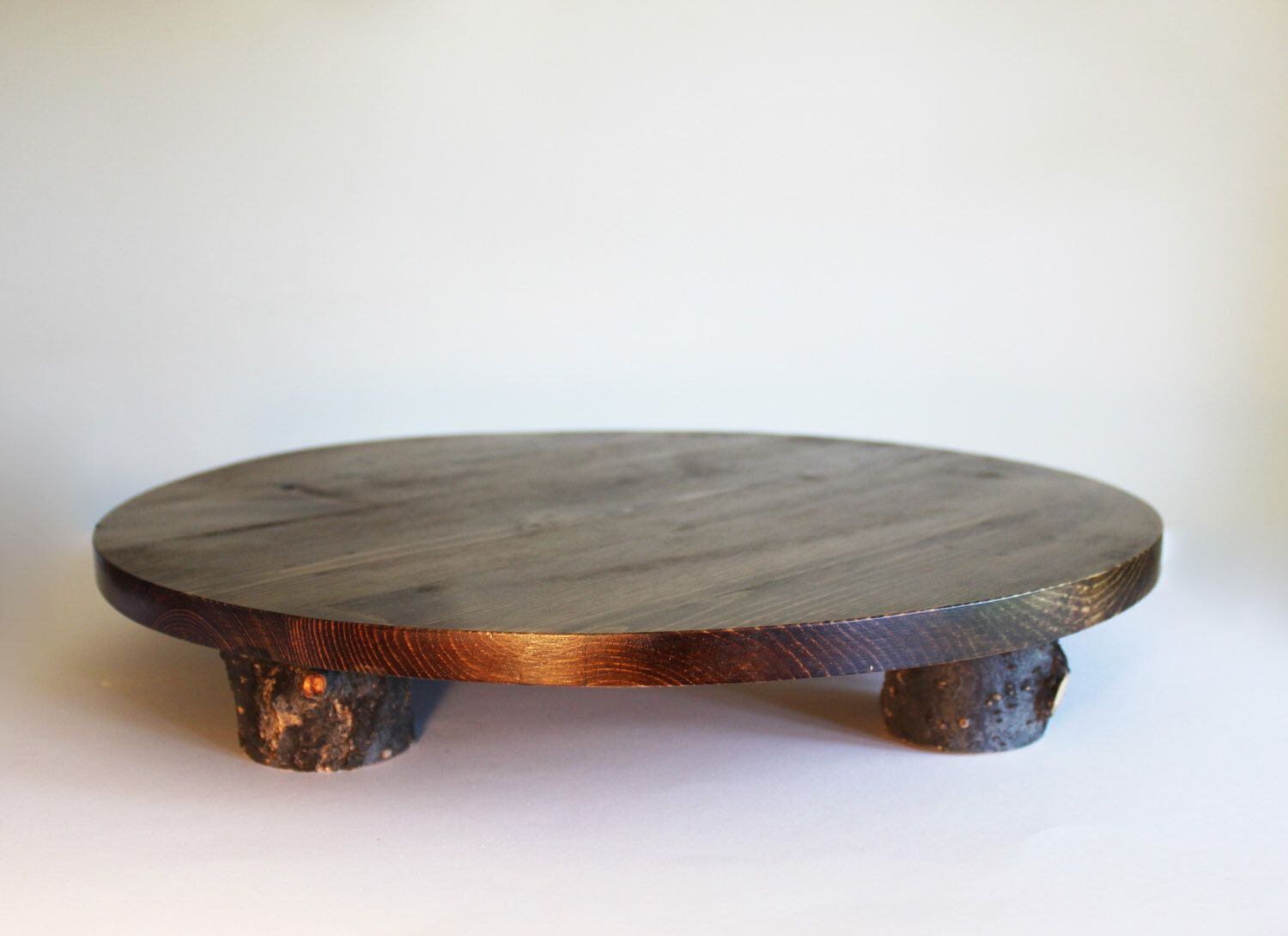 Rustic cake stand rustic wedding cake stand wood cake stand