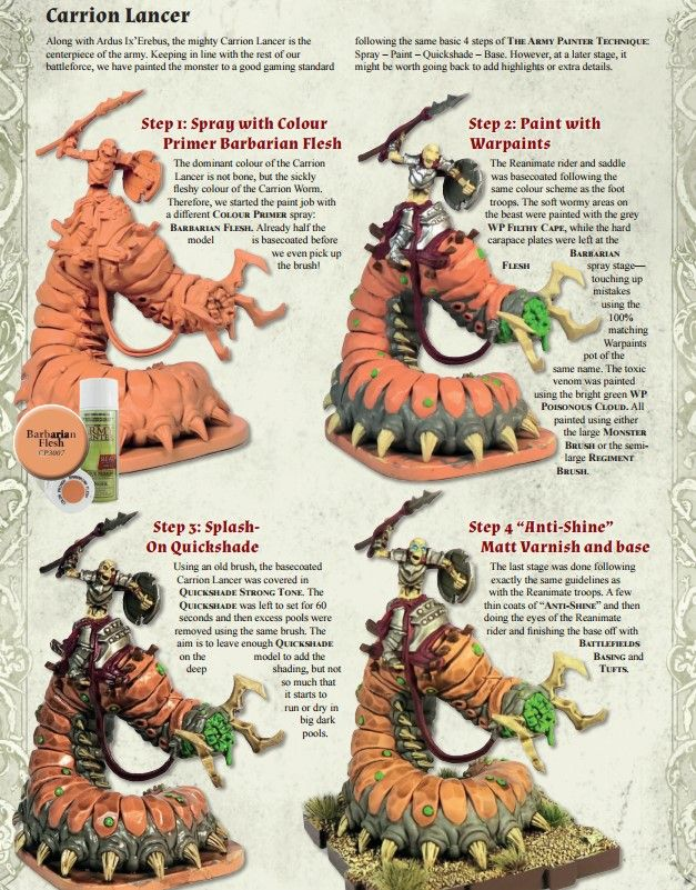 Waiqar The Undying Painting Fantasy Miniatures Painting Tutorial