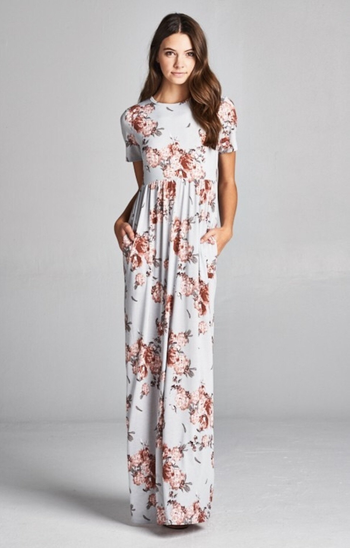 9c88c693505 Floral maxi with pockets in 2018