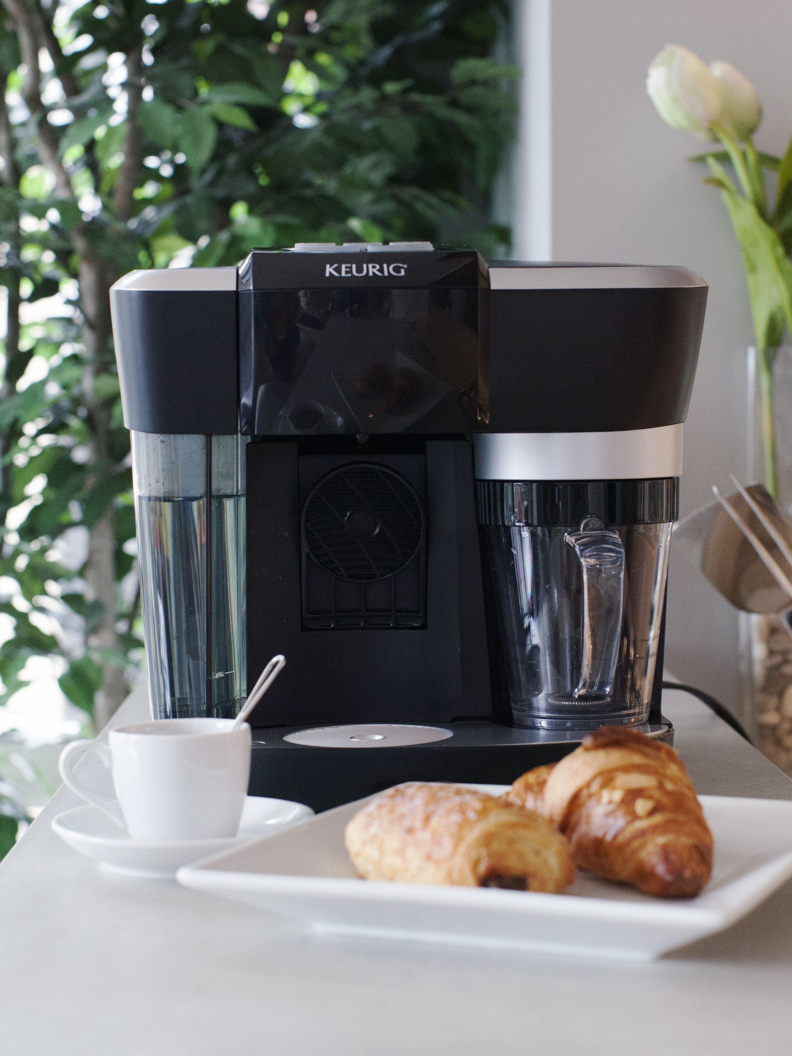 The simplicity of the Keurig Rivo System technology