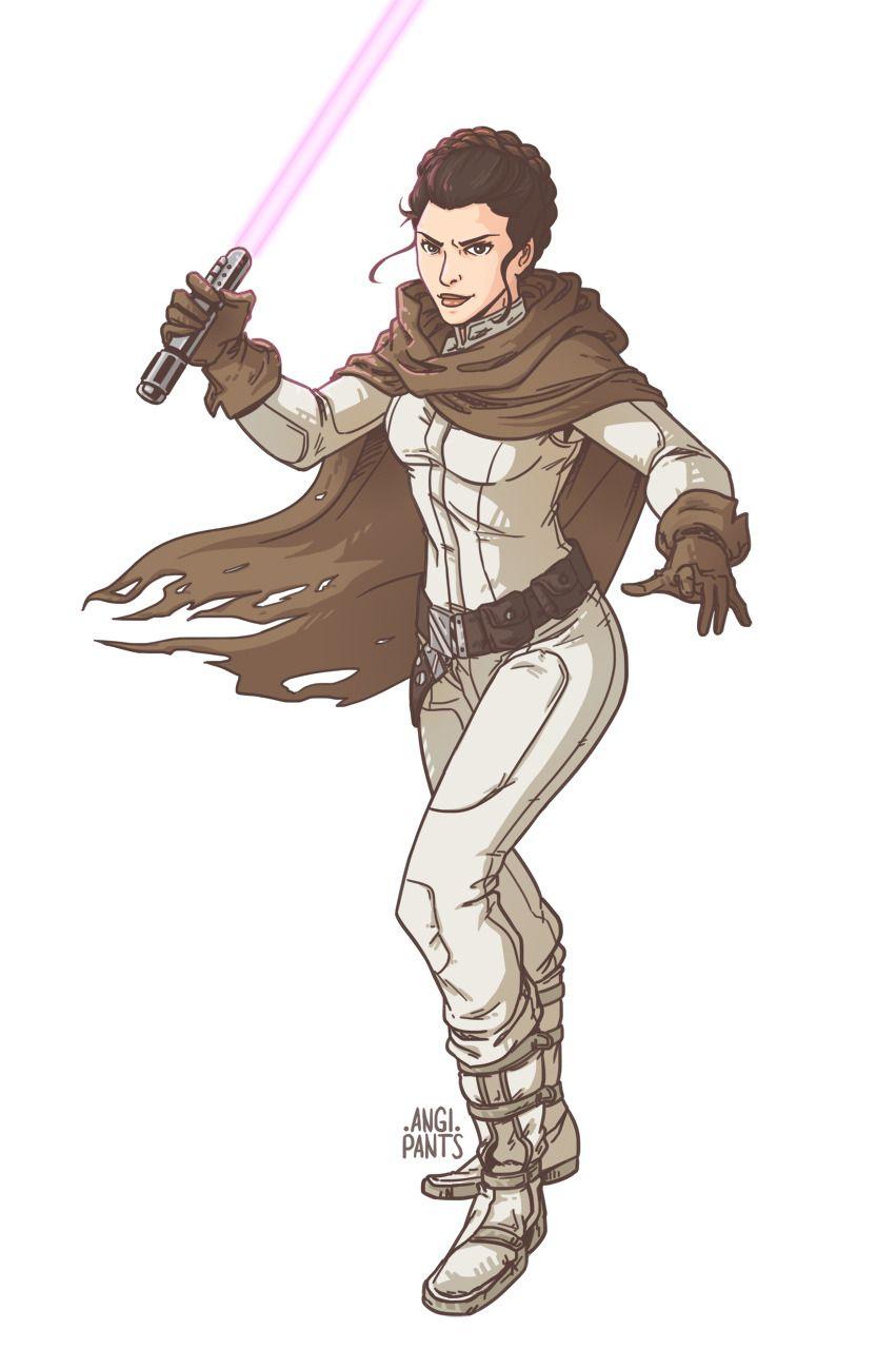 princess leia lightsaber legends