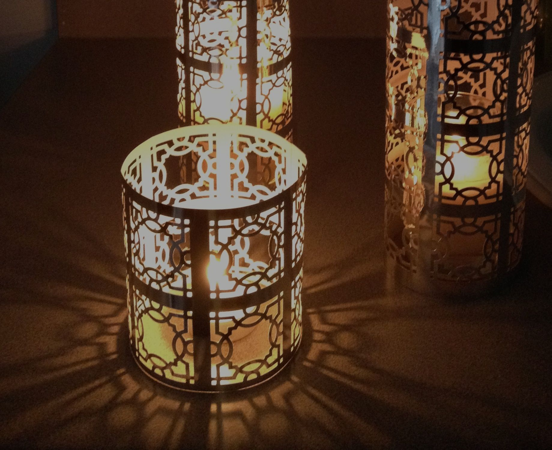 Image gallery moroccan paper lantern template for Homemade lantern lights