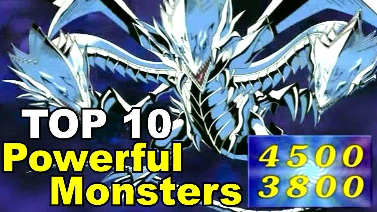Top 10 most powerful yugioh monsters youtube yugioh