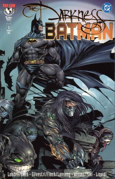 Batman & Darkness cover by David Finch