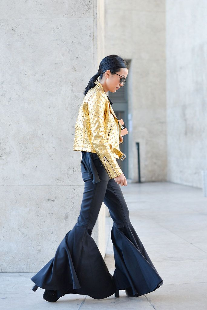 The Best Street Style Snaps From Paris Fashion Week: Phew! We've made it through day two in Paris, the last leg of our Fashion Month world tour.