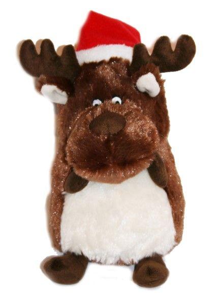 Petface Christmas Moose Dog Toy Christmas Dog Toy Christmas