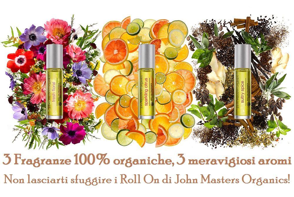 """Siamo in Autunno? Quasi in Inverno? Non si direbbe :-) Con le nuove fragranze corpo di John Masters Organics è Primavera tutto l'anno: prive di alcool e molecole sintetiche, sono i prodottini giusti per """"aromatizzare"""" le vostre feste di Natale, dovete solo scegliere tra aroma agli agrumi, floreale e speziato!"""