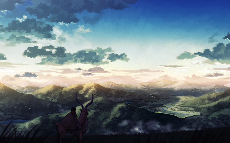 Studio Ghibli Princess Mononoke Ashitaka Mononoke Yakuru Landscape Anime Wallpapers Hd Desk Princess Mononoke Wallpaper Studio Ghibli Princess Mononoke