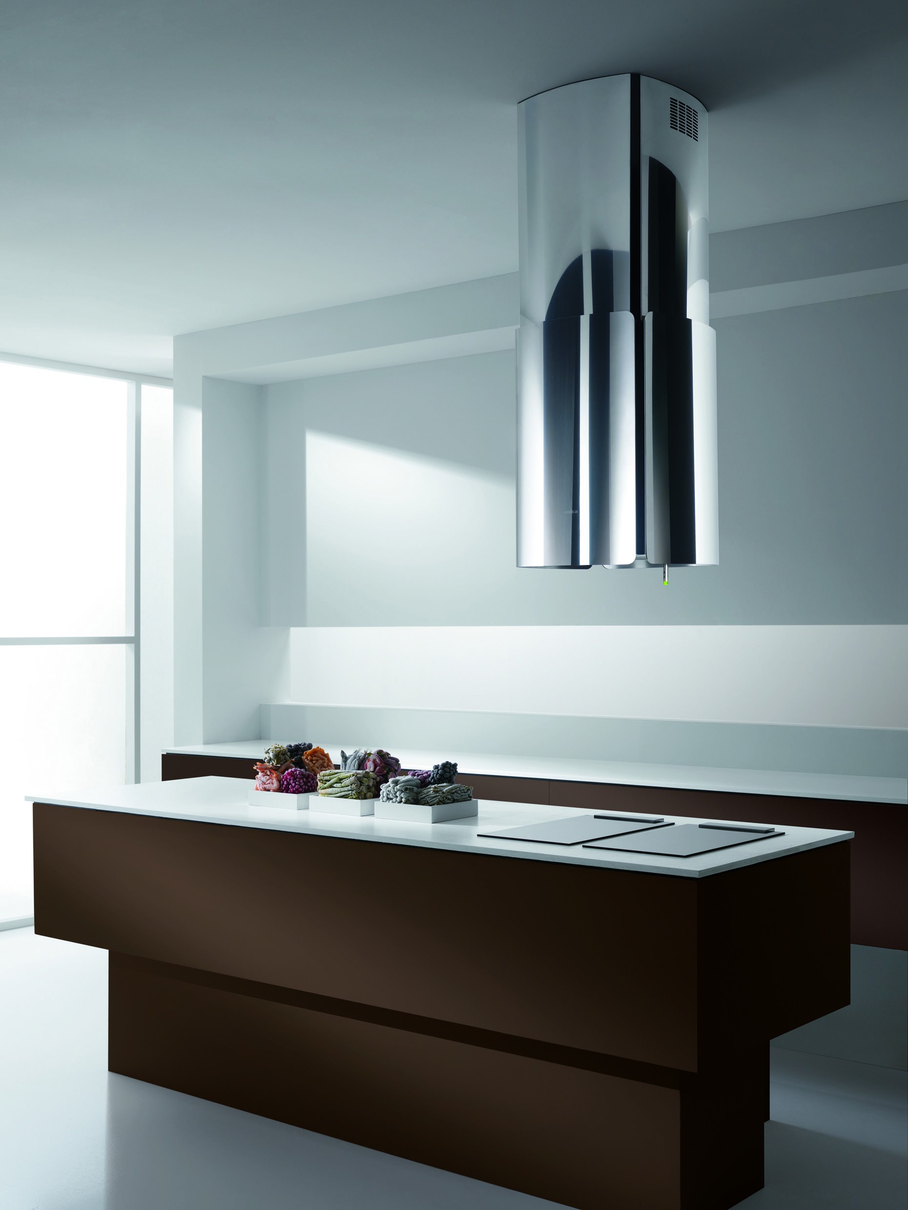 Elica CHROME Range Hood | Design#1 | Pinterest | Chrome, Ranges and ...