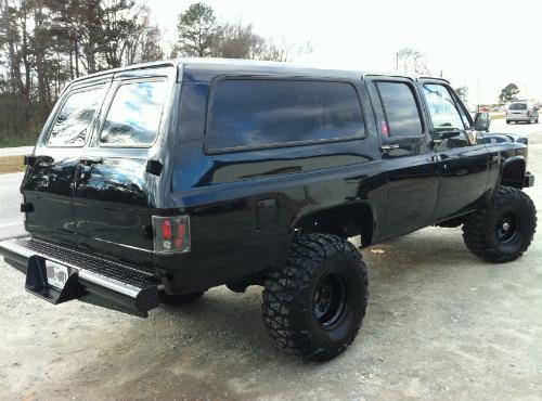 1987 Suburban Rear Heavy Duty Bumper Chevrolet Suburban Chevy Suburban Chevy