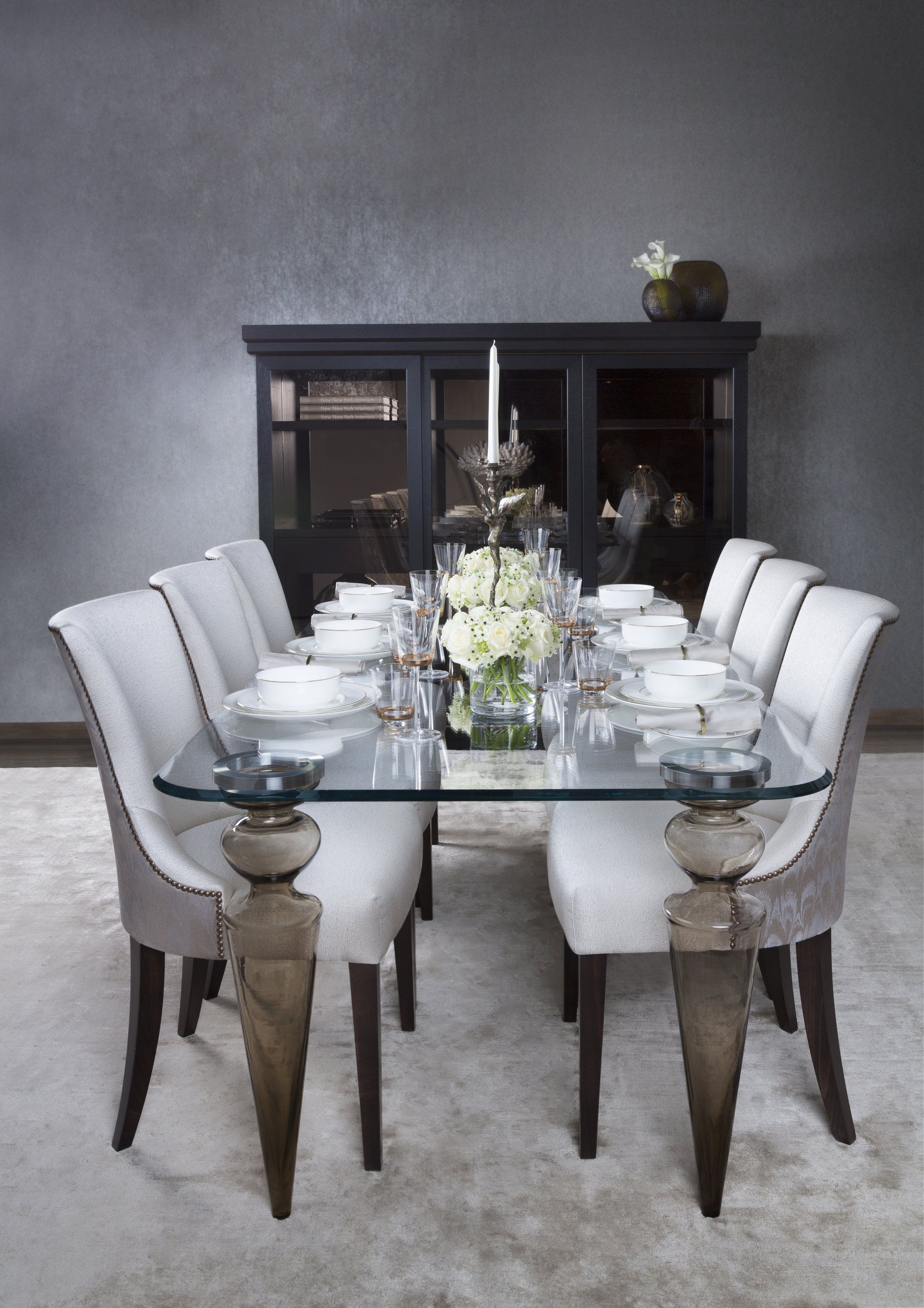 Olympia Dining Table   Bond Storage Unit