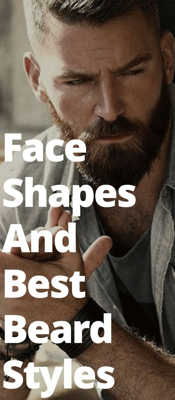 Beard Style as per your Face Shape - What style should you opt for? #hairandbeardstyles
