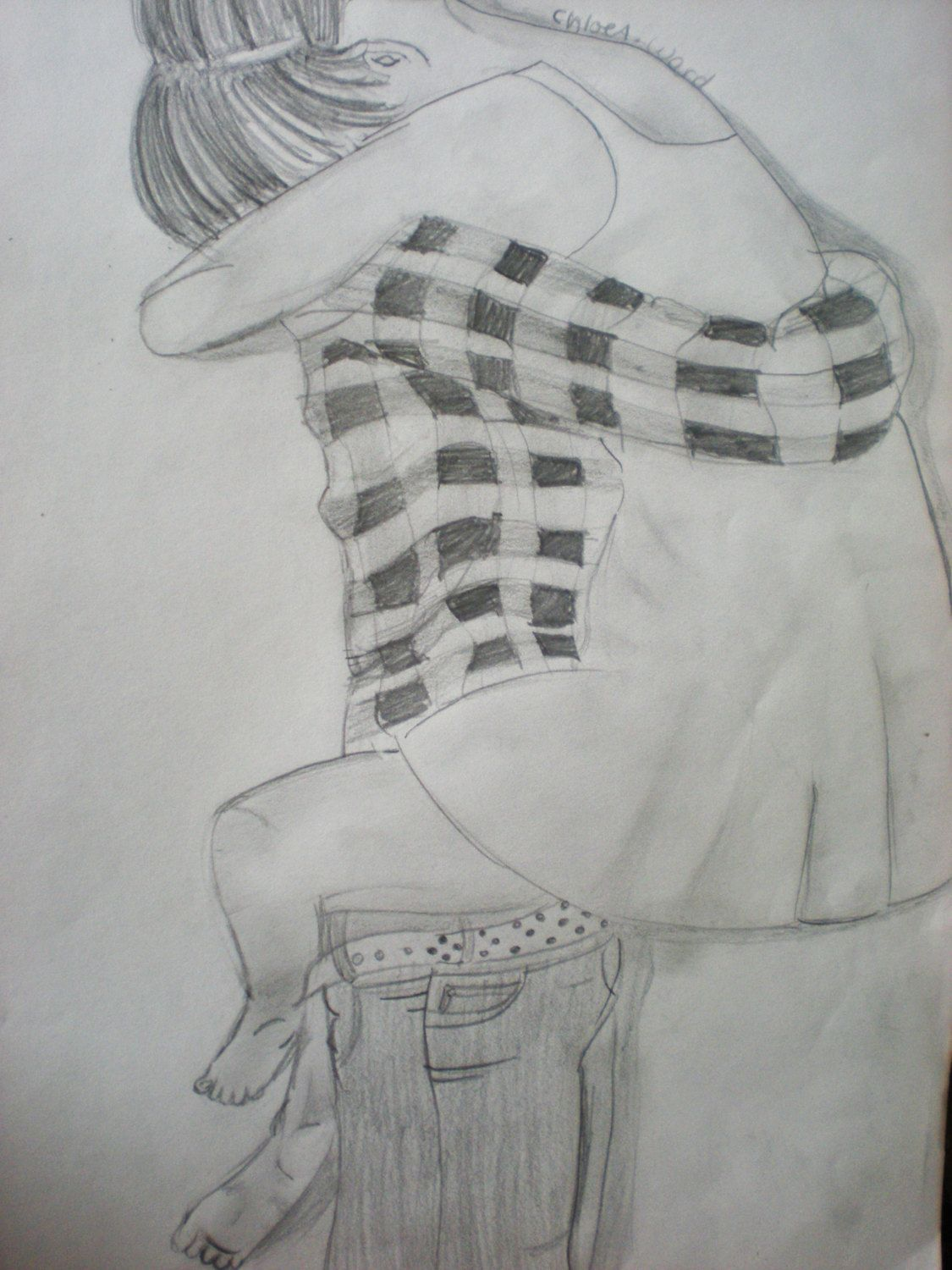 Easy How To Draw People Hugging Imgurl