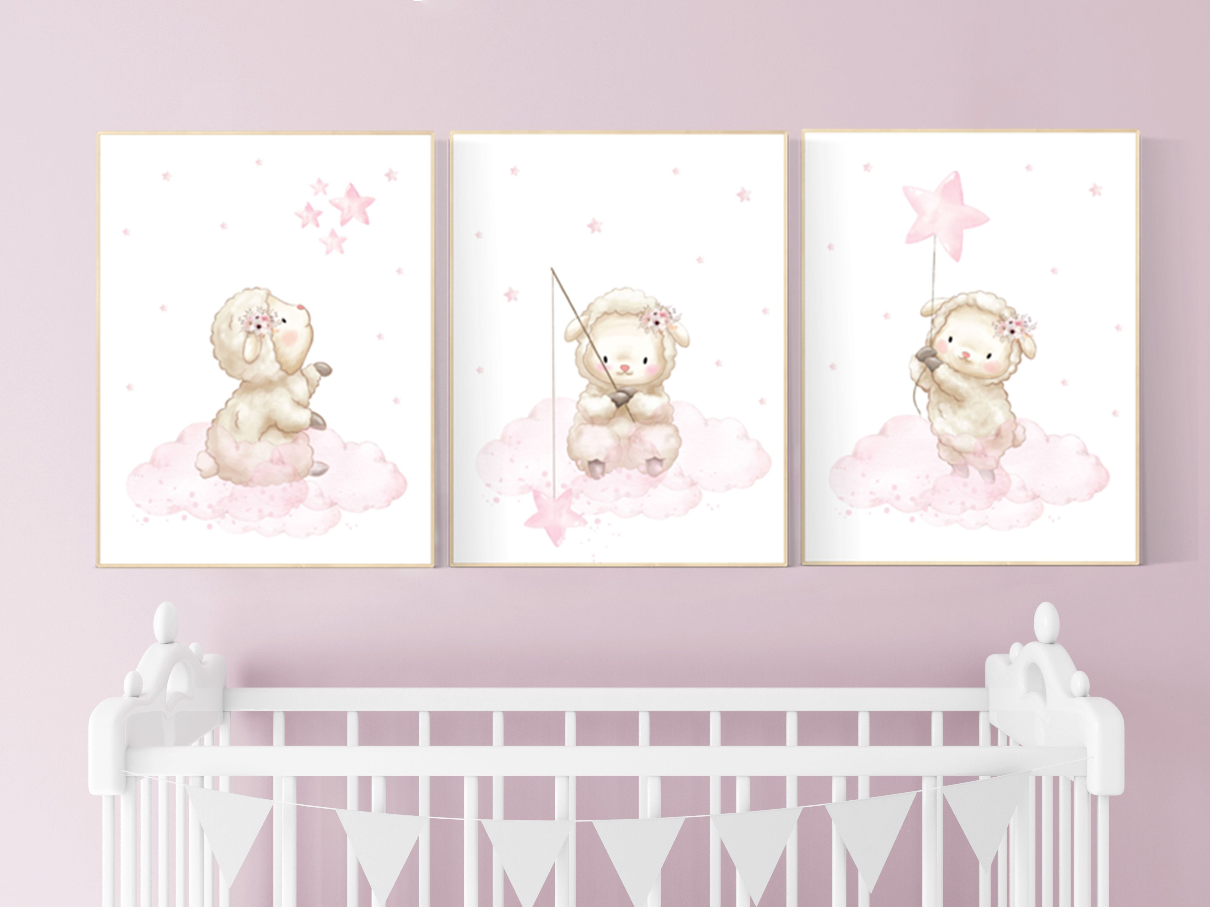 Sheep Nursery Decor