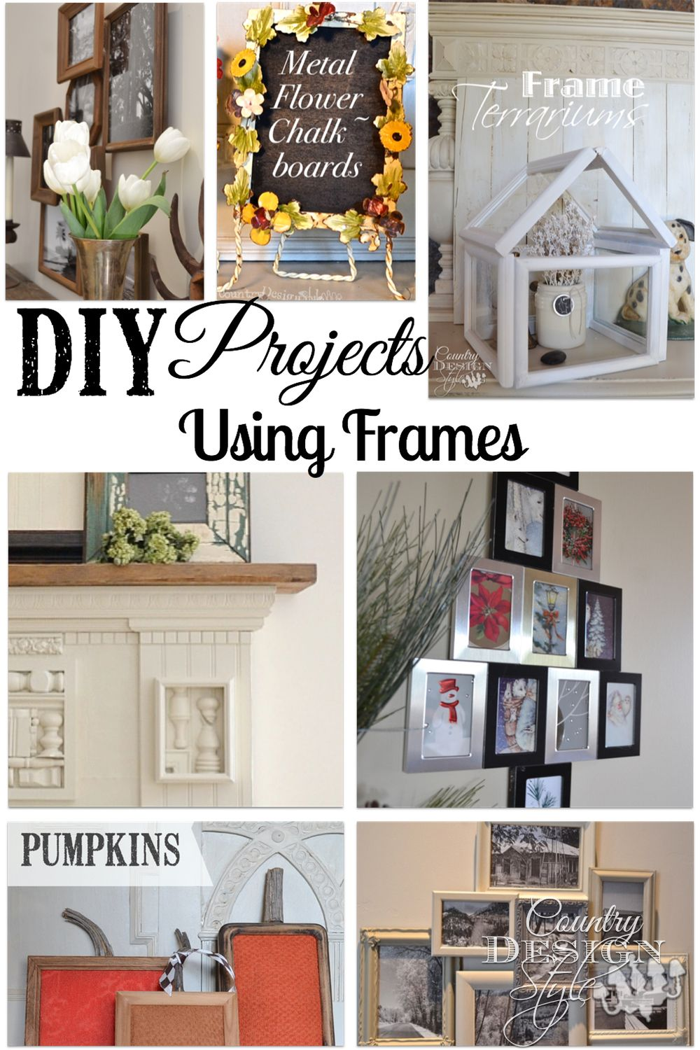 Frames Picture Frame Crafts Picture Frame Projects Diy