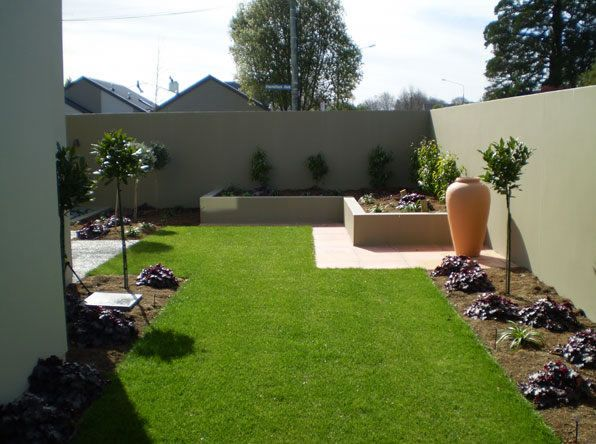 Artistic Beautiful Modern Garden Concept Idea With Simple ...