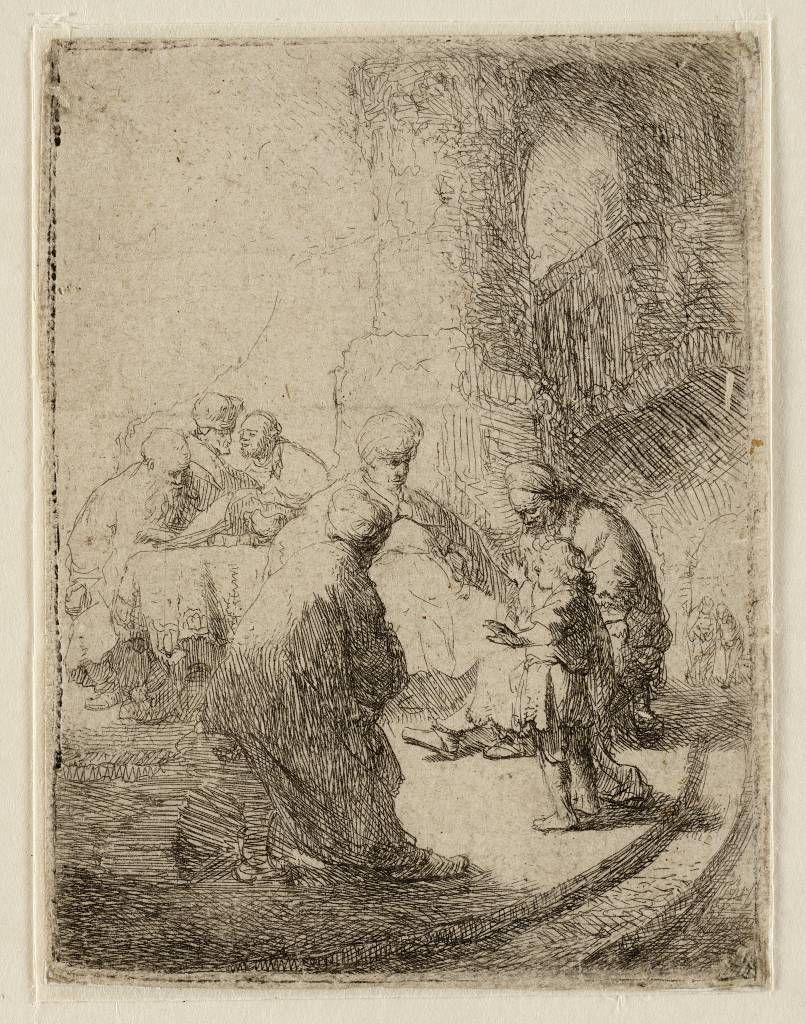 Mijn favoriete Rembrandt in Teylers Museum: Christus onder de schriftgeleerden (B66)