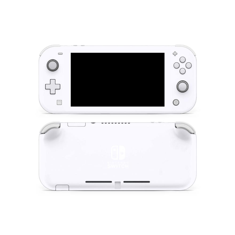 Ghost White Nintendo Switch Lite Skin Nintendo Switch Nintendo Ghost White
