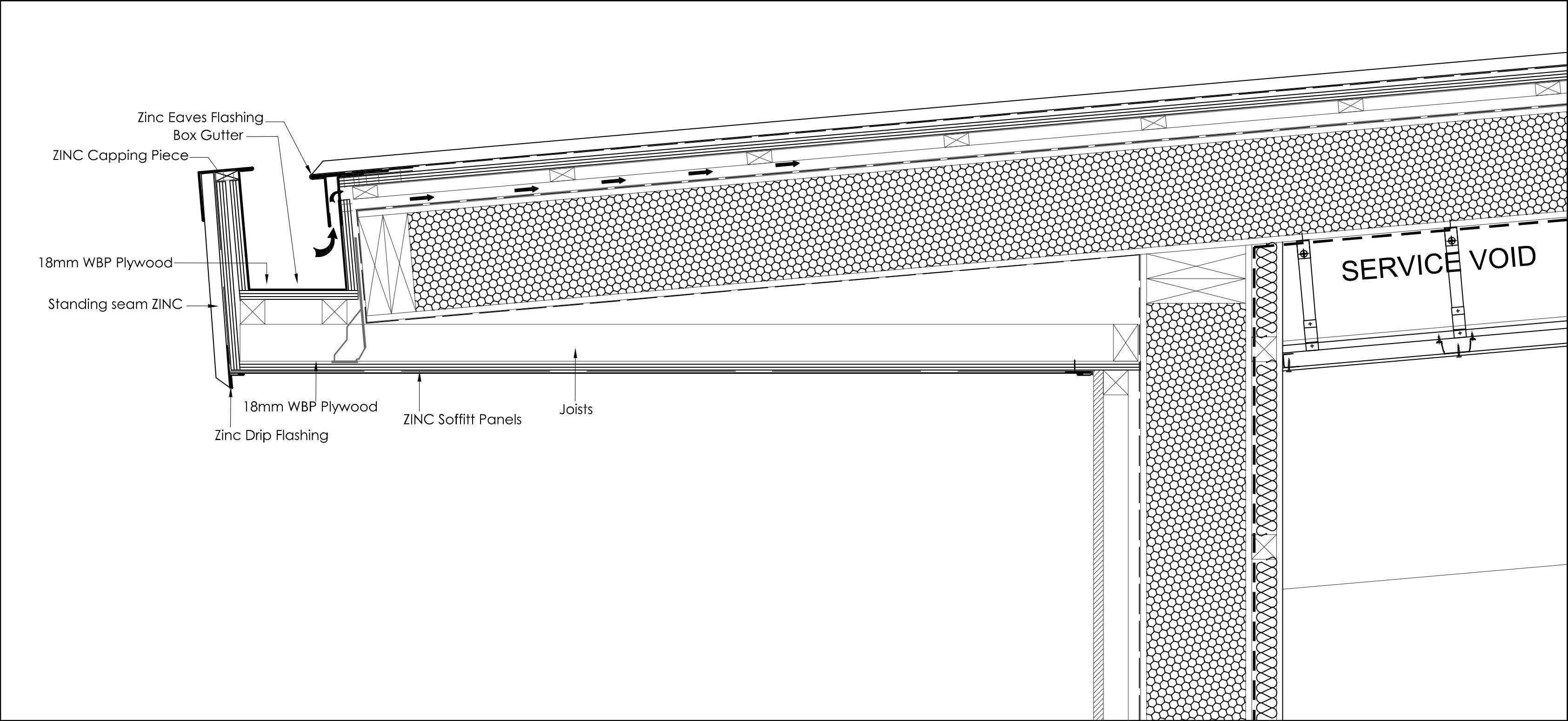 Zinc On Detail Roof Google S 248 Gning Roof Pinterest
