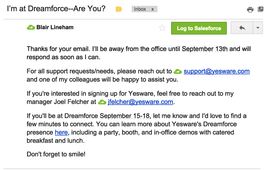 13 Refreshingly Unique Out Of Office Message Examples