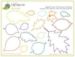 Leaves Pattern Pdf Download This Pattern Of Autumn Leaves