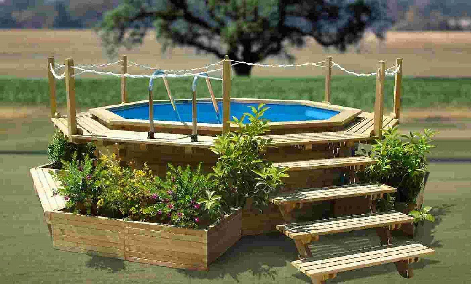 Cool above ground pool ideas photo gallery of the above - Cool above ground pools ...