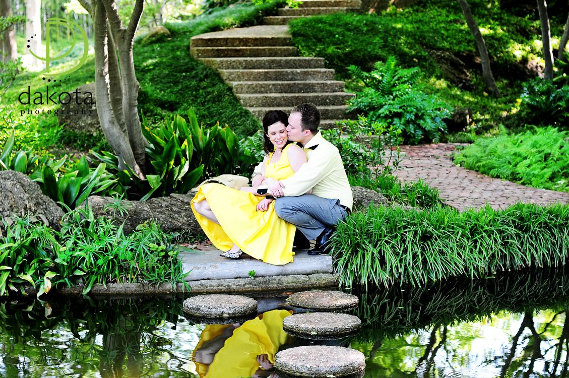 Fort Worth Engagement Photography   Fort Worth Japanese Garden, Fort Worth  Botanical Garden
