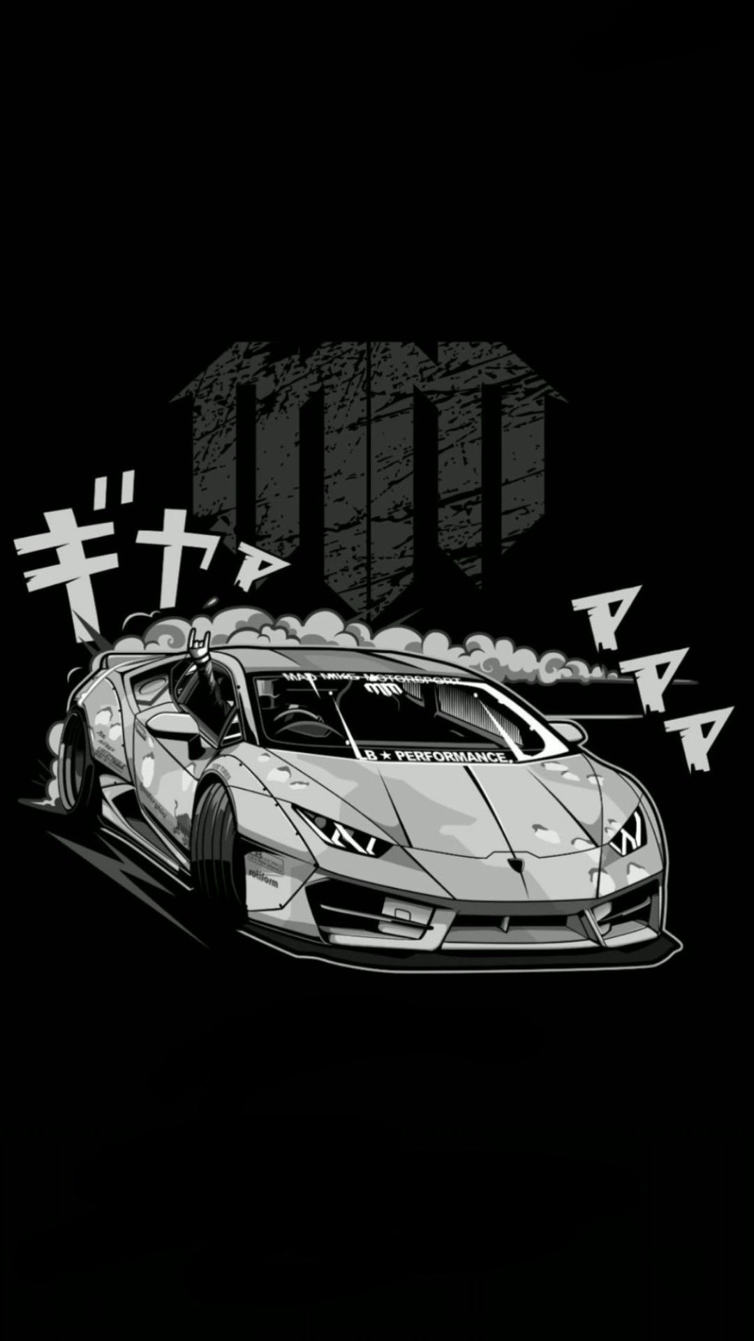 Mad Mike   Drift Lamborghini Huracan Wallpaper for Phone