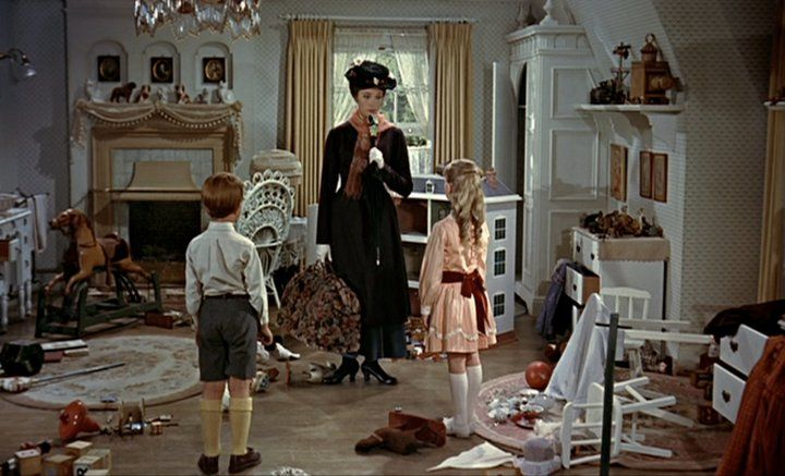 Desert Girls Vintage: Mary Poppins: Magical and Organized Childrens' Rooms