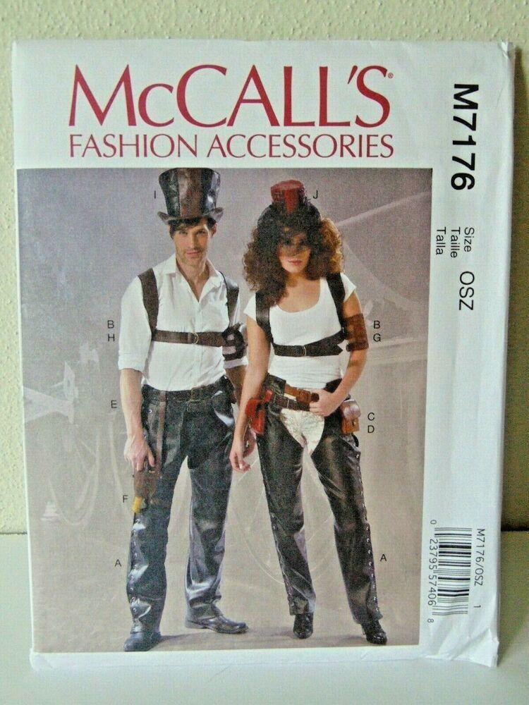 McCalls Patterns 7176 OSZ,Misses//Mens Accessories