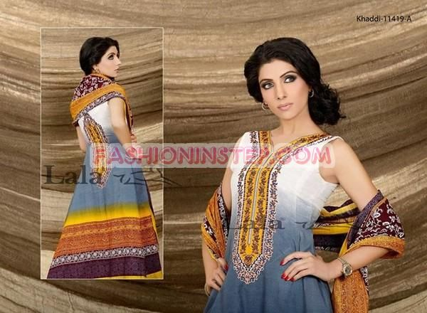 Sana and Samia Khaadi Collection 2013 by Lala