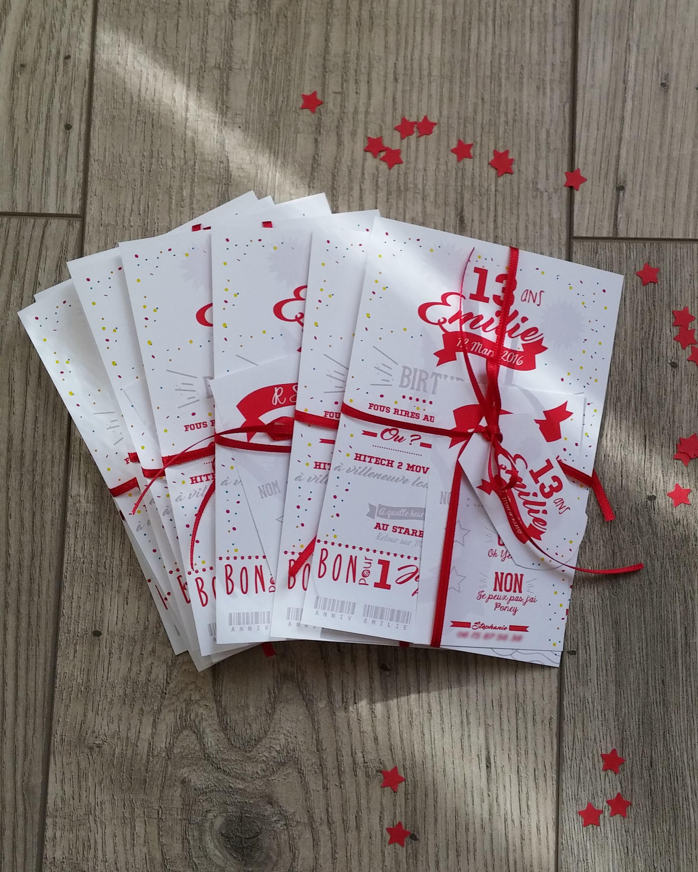 carton d 39 invitation cheerleader anniversaire carte. Black Bedroom Furniture Sets. Home Design Ideas