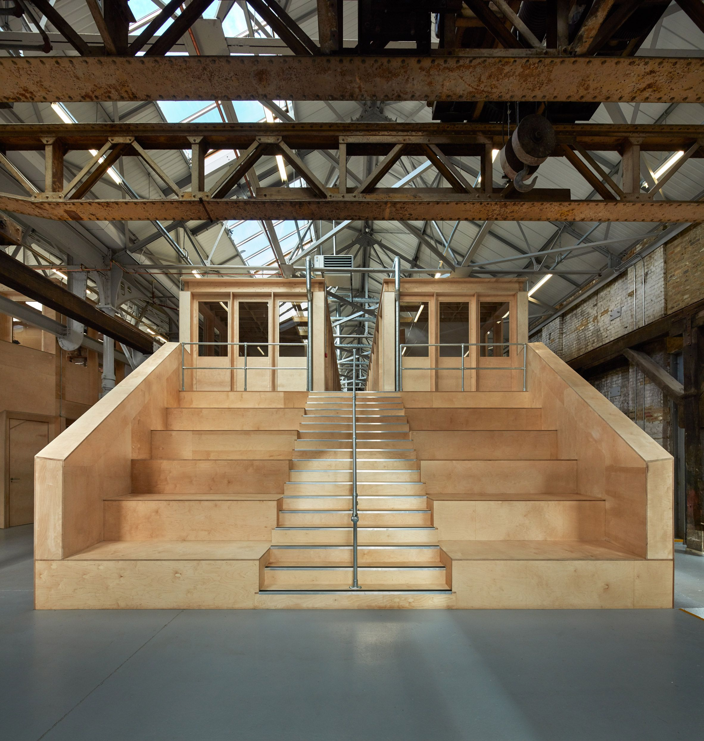 Emrys Architects uses timber inserts to convert east