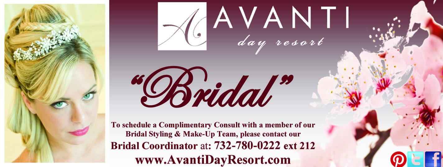 Avanti Day Resort BEST Bridal Hair and Makeup in NJ 732-780-0222 www.avantidayresort.com