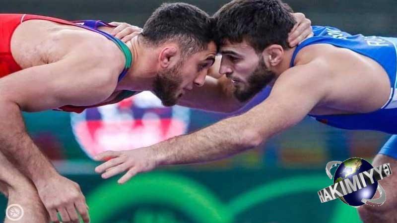 Haci əliyev Finalda Erməni Ilə Guləsəcək In 2021 Wrestling Sumo Wrestling Sports