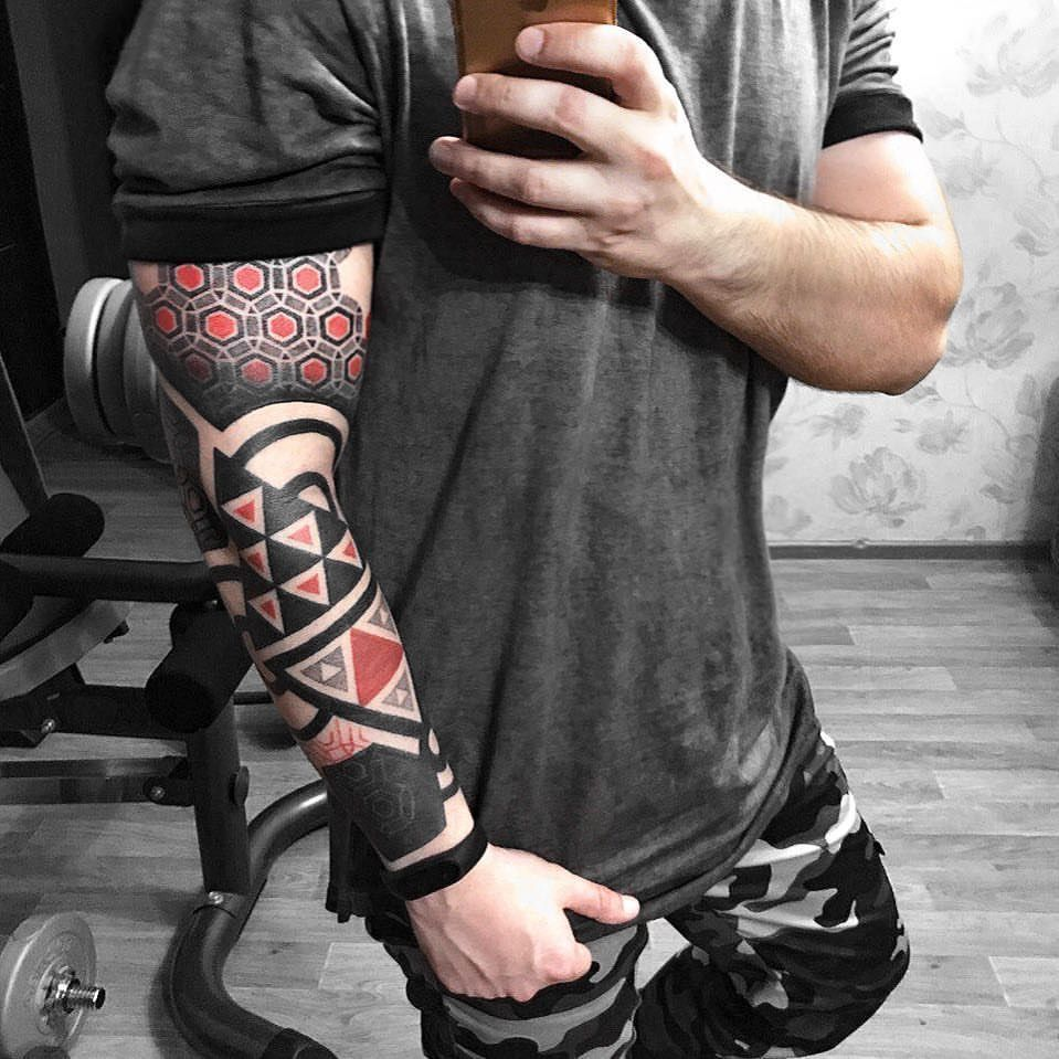 Multiple Tattoo Sleeve: Really Digging This Tattoo Design. Multiple Styles And The
