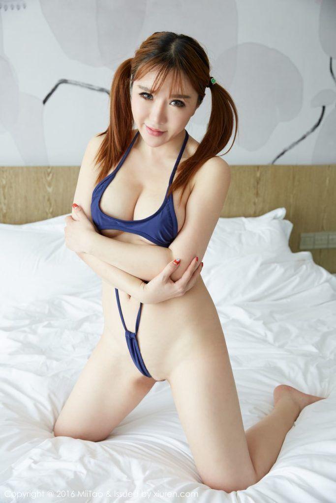 Han Enxi Miitao Xiuren Chinese Models Nude Bikini