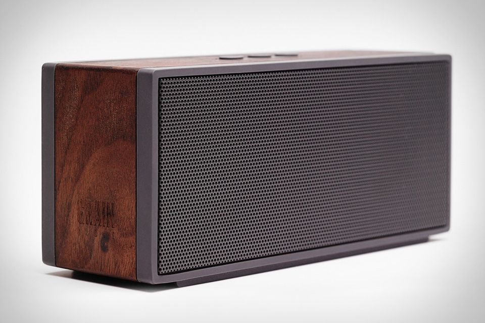 wireless speakers for office. Grain Audio Packable Wireless Speaker-Forget About All Of Those  Lightweight, Plastic Audio Boxes Out There That Feel Like They Would Crumble With Their Wireless Speakers For Office T