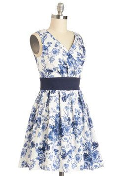 When Sprigs Fly Dress, #ModCloth