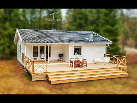 A Monochromatic Cottage In The Countryside Small House Design Youtube Small House House In The Woods Build Your Own House